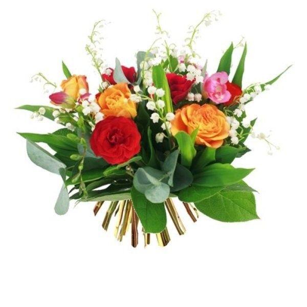 Tube fleurs for Bouquet de fleurs muguet