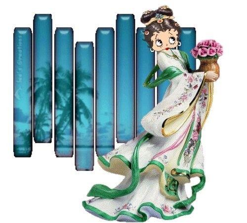 Betty boop geisha